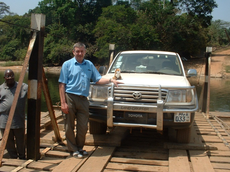 John Spencer in Sierra Leone