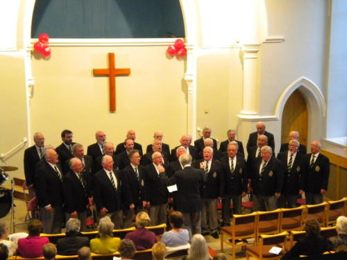 Choir Concert for Christian Aid 2015