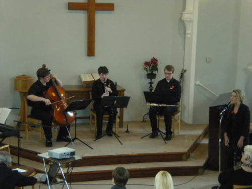 Music in the Afternoon for Christian Aid 2012